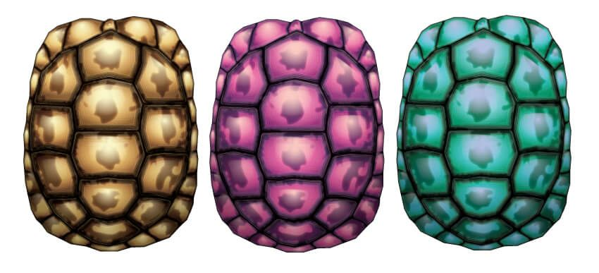 850x387 How To Create A Tortoise Shell Using The Appearance Panel In Adobe