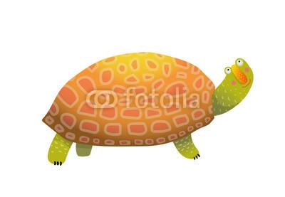 400x277 Isolated Tortoiseshell Clip Art Watercolor Style. Vector