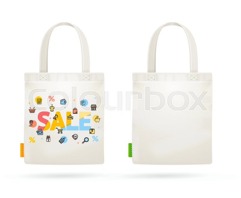800x657 Fabric Cloth Bag Tote For Sale Concept Seasonal Discount
