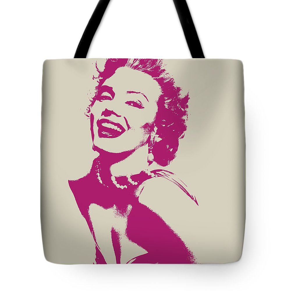 1000x1000 Marilyn Monroe Vector Pop Art Portrait Tote Bag For Sale By Design