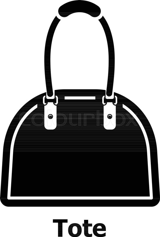 541x800 Tote Bag Icon. Simple Illustration Of Tote Bag Vector Icon For Web