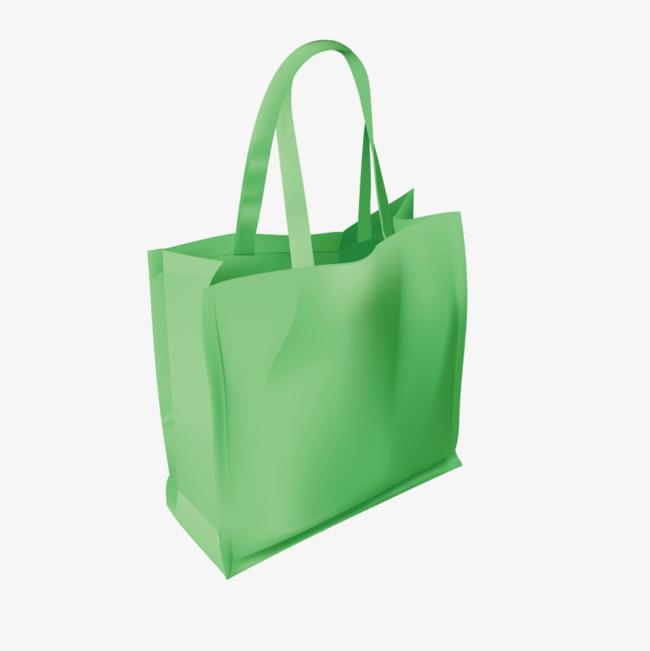 650x651 Vector Green Shopping Bag Bag, Green Vector, Shopping Vector, Bag