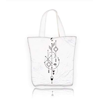 425x425 Chaoranhome Honor Canvas Tote Bag Vector Geometric