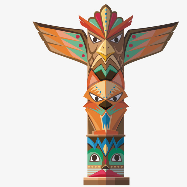 650x651 Vector Vertical Totem, Animal Totem, Exotic, Decoration Png And