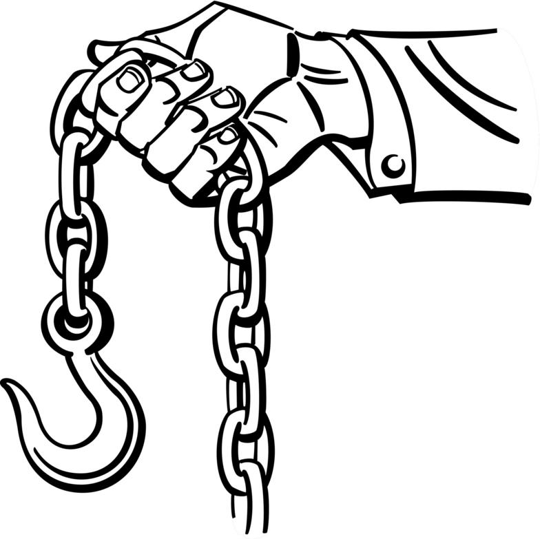 784x783 Collection Of Tow Chain Clipart High Quality, Free Cliparts