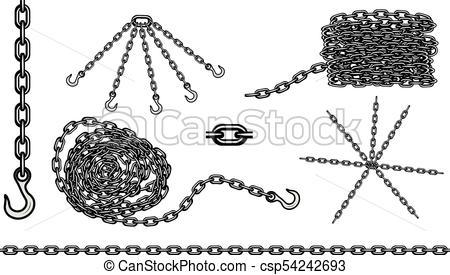 450x275 Chain Hook Vector Set.