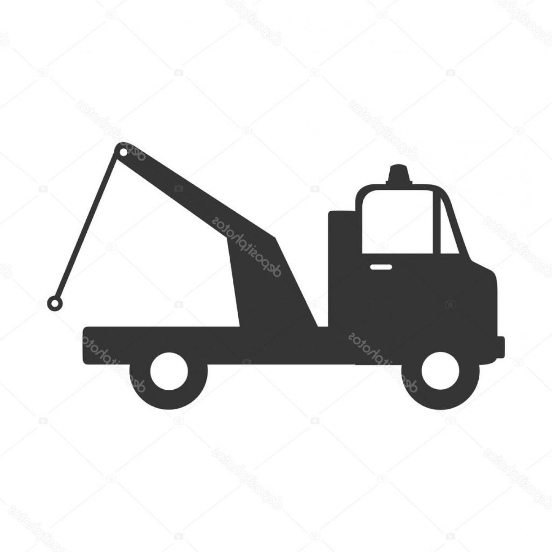 1228x1228 Stock Illustration Cargo Truck Crane Icon Vector Orangiausa