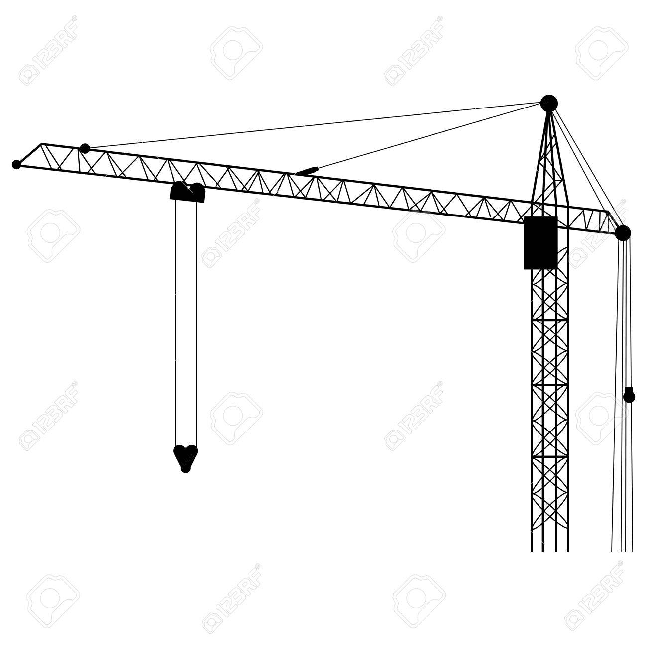 1300x1300 Collection Of Free Hyloist Clipart Tower Crane. Download On Ubisafe