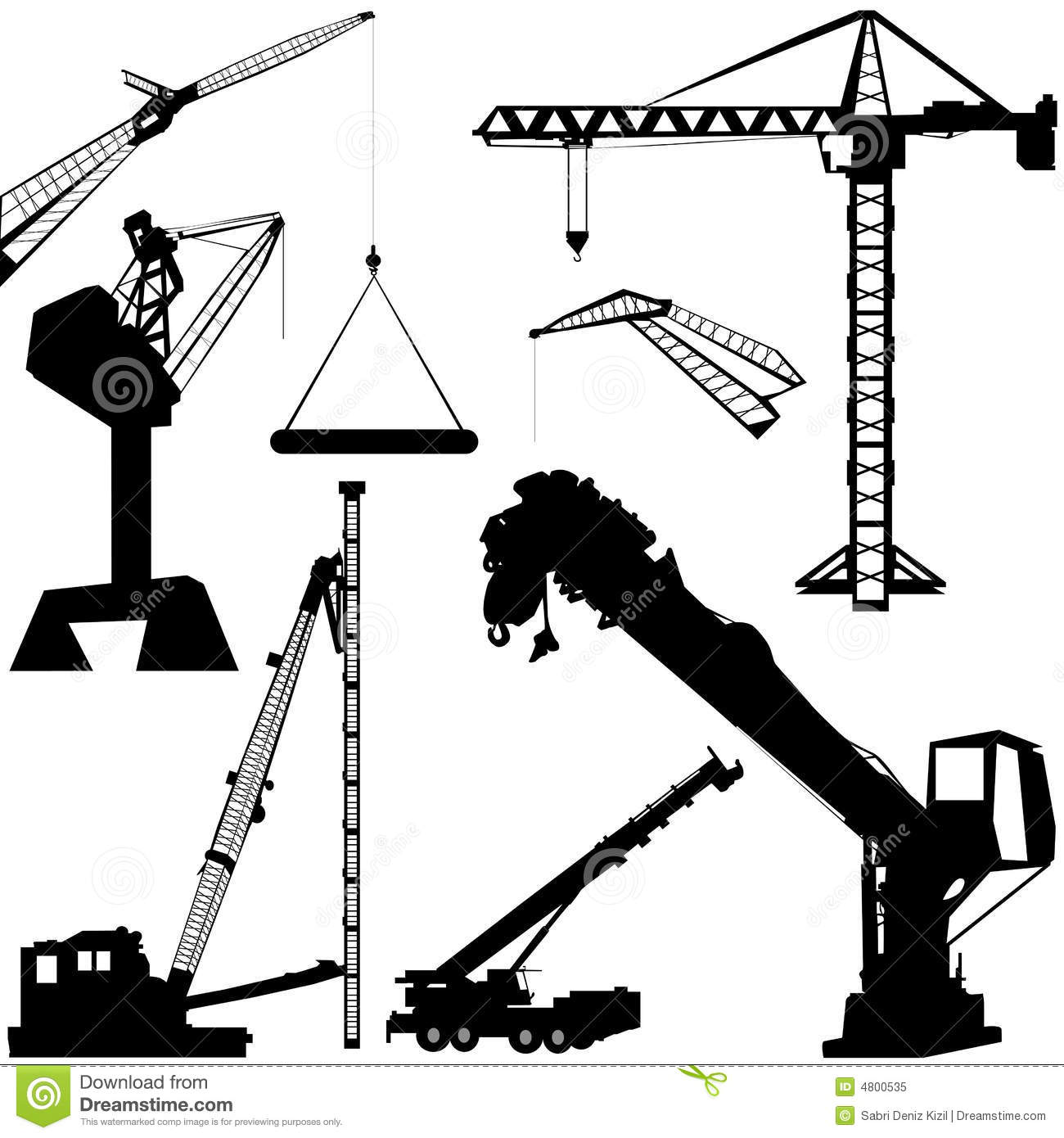1300x1390 Pictures Of Construction Crane Vector