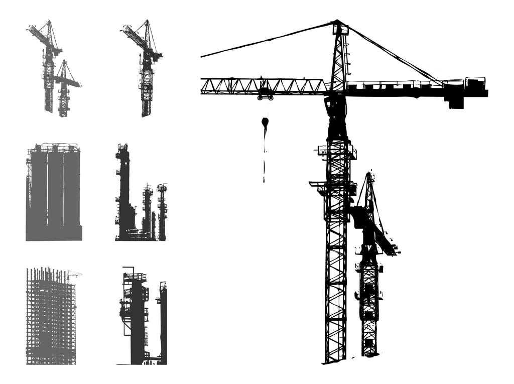 1024x765 Scaffolds Graphics Set Vector Art Amp Graphics