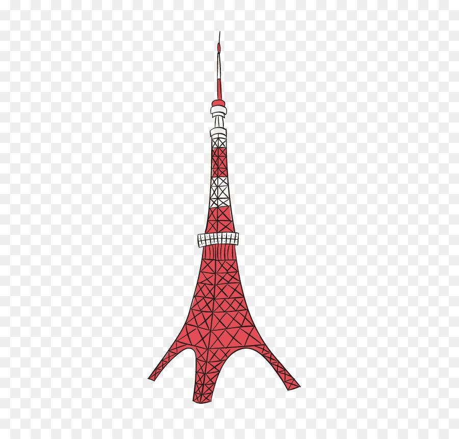 900x860 Tokyo Tower Eiffel Tower