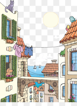260x360 Town Vector Png Amp Town Vector Transparent Clipart Free Download