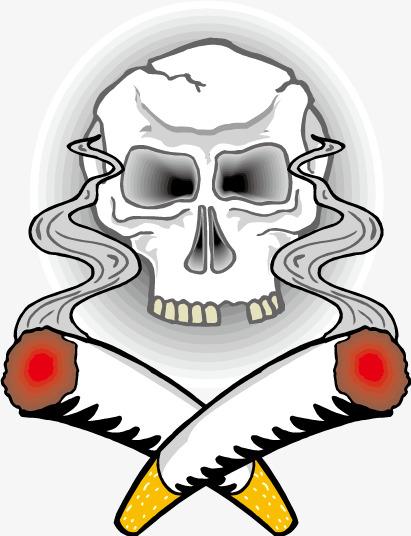 411x536 Toxic Smoke Vector, Smoke, Cigarette, Skull Png And Vector For