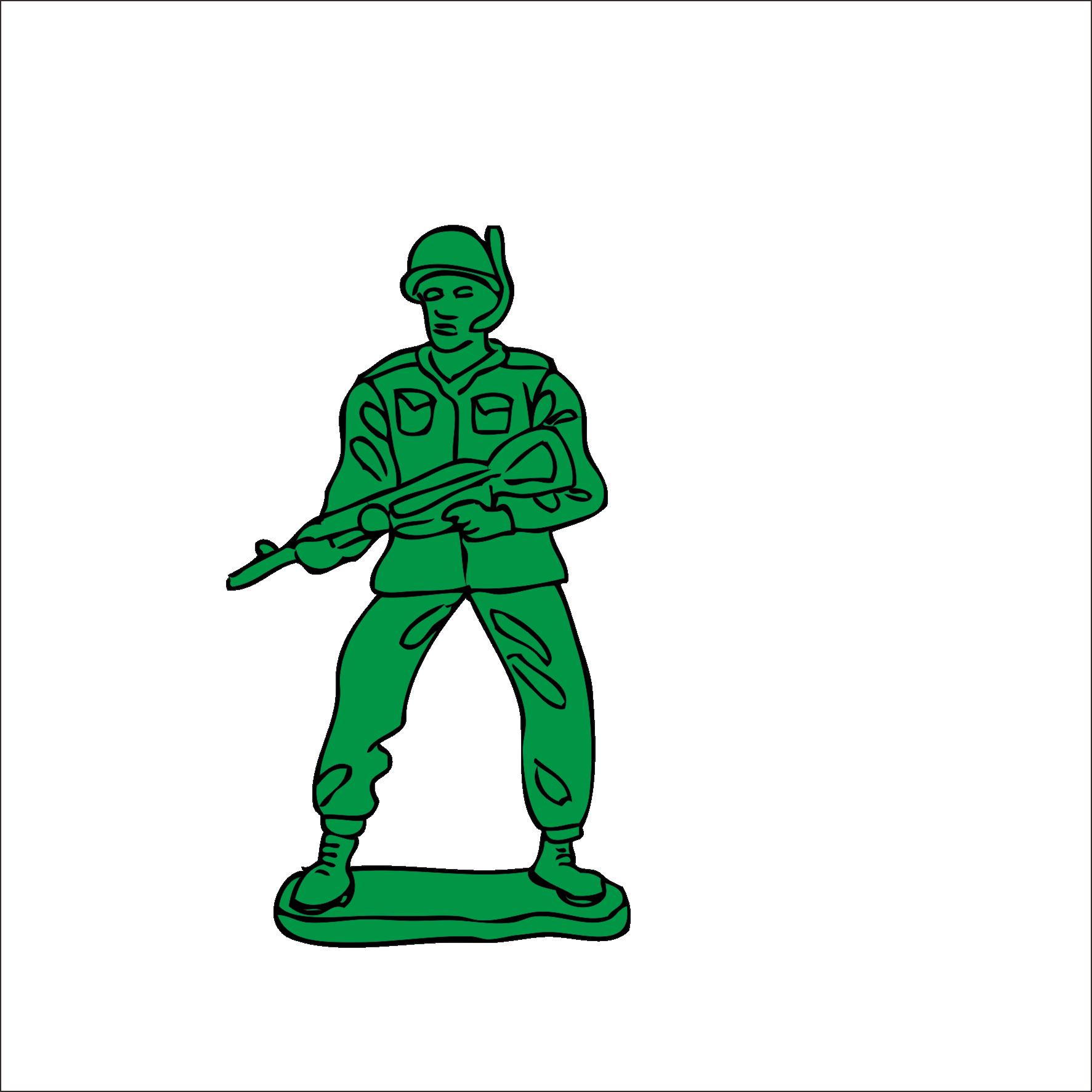 1773x1773 Soldier Vector