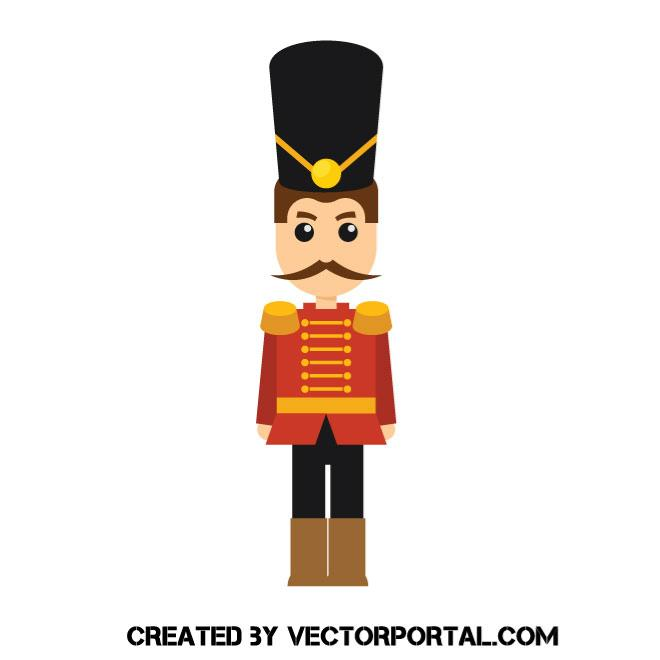 660x660 Toy Soldier Vector Image