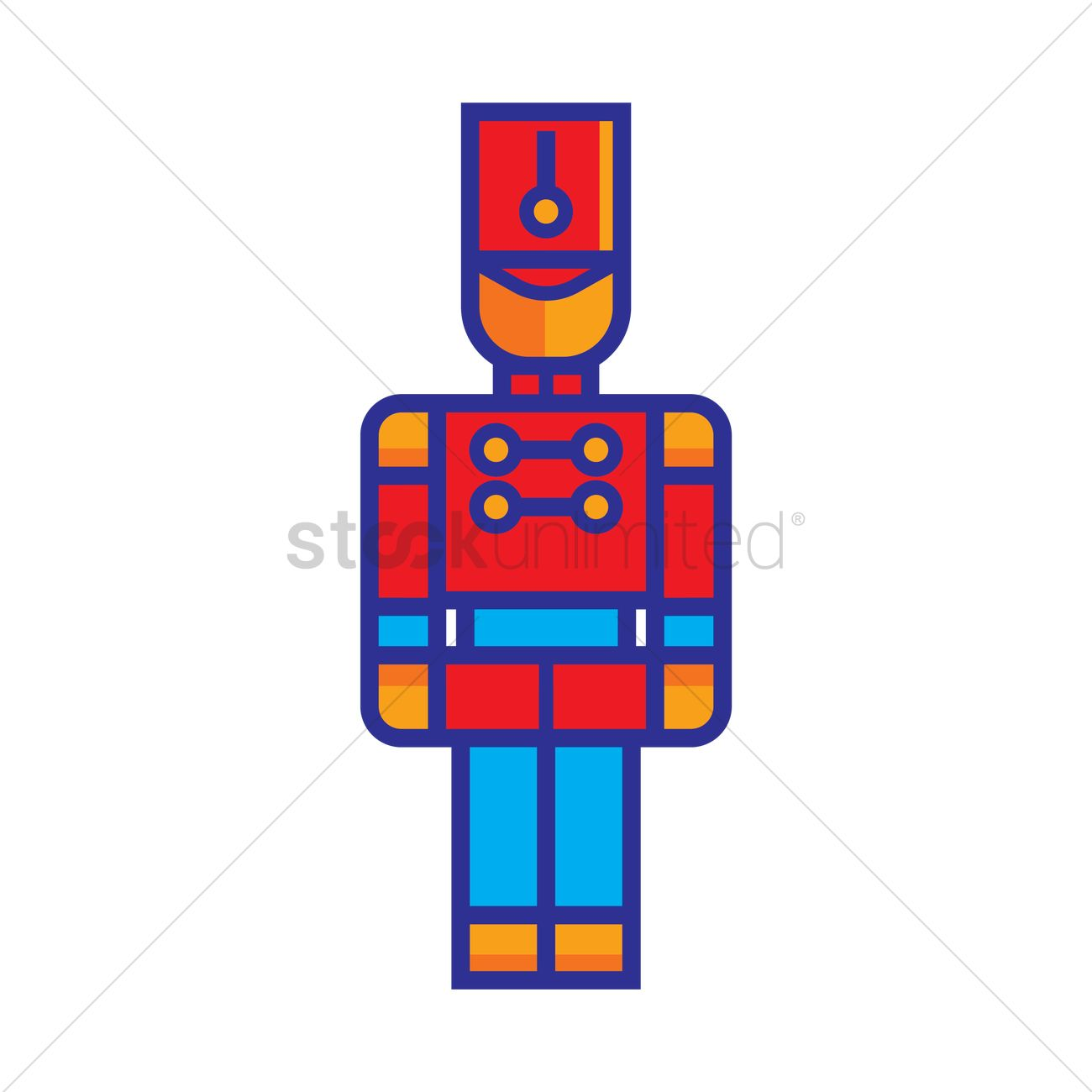 1300x1300 Free Toy Soldier Vector Image