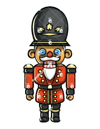 324x418 Nutcracker Toy Soldier A Wooden Nutcracker Soldier Toy Doll With