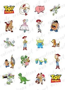 218x300 20 Asst Disney Toy Story Water Slide Nail Art Decals Toy Story