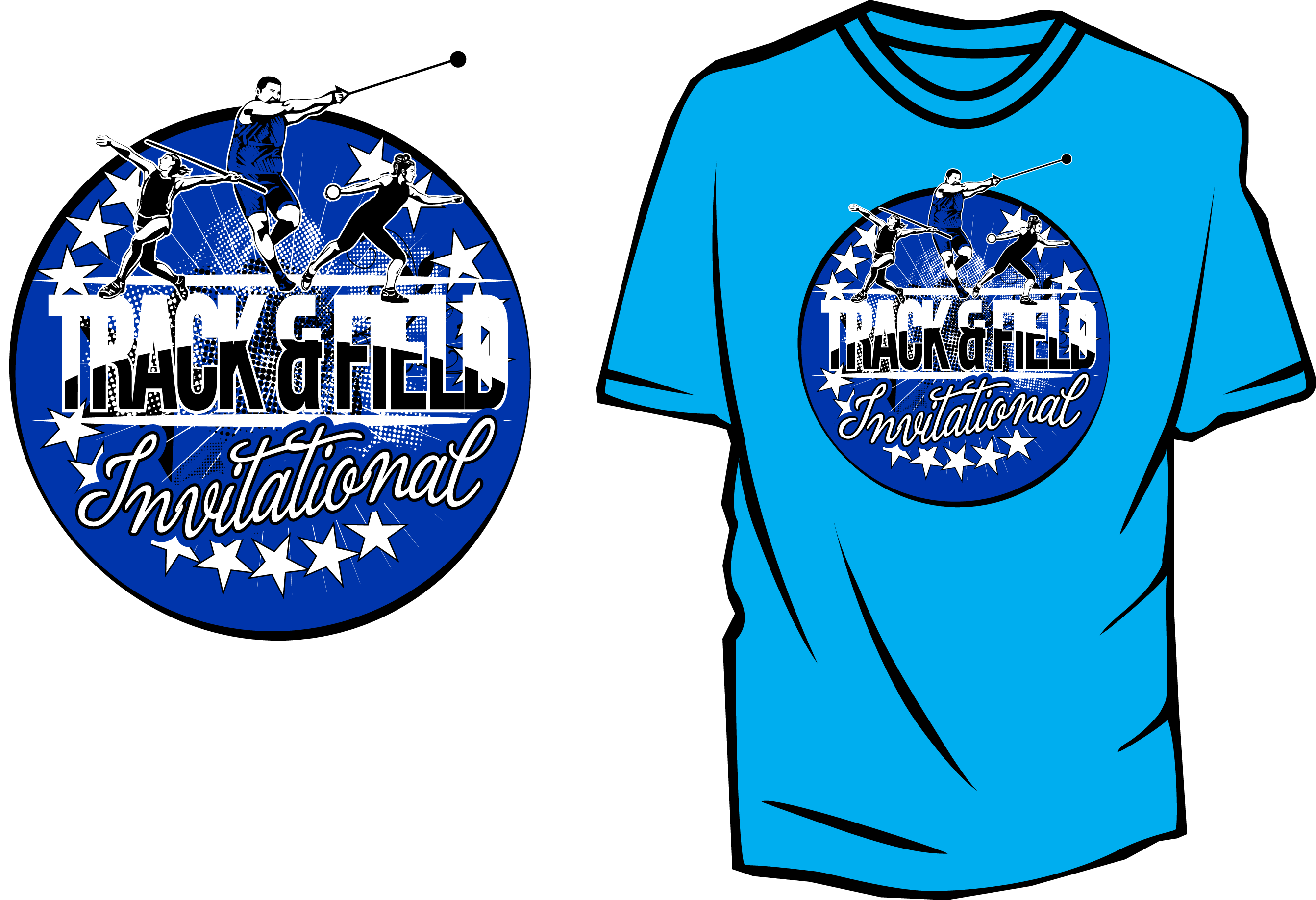 2685x1835 Track And Field Vector Design For Tshirt And Apparel Download