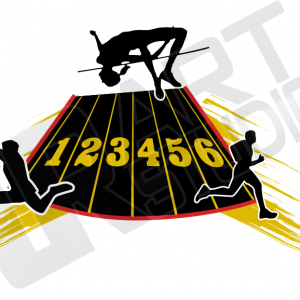 300x300 Track And Field Vector Design 1