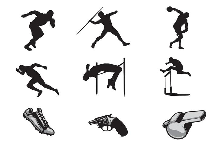 700x490 Free Track And Field Vectors