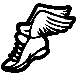 300x300 Running Shoes Clipart Vector