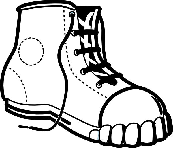 600x511 Shoe Vector Cliparts