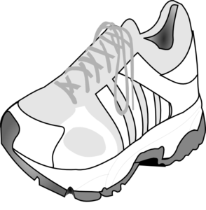 294x300 Shoe Clipart Sport Shoe