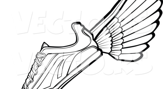 540x296 Track Shoes Design Vector