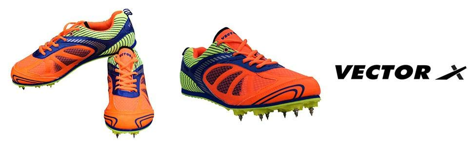 970x300 Vector X Bolt Spike Running Shoes Amazon.in Sports, Fitness