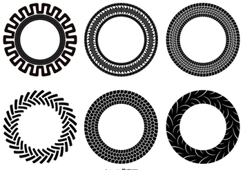 352x247 Set Of Tractor Tire Vector Free Vector Download 373827 Cannypic