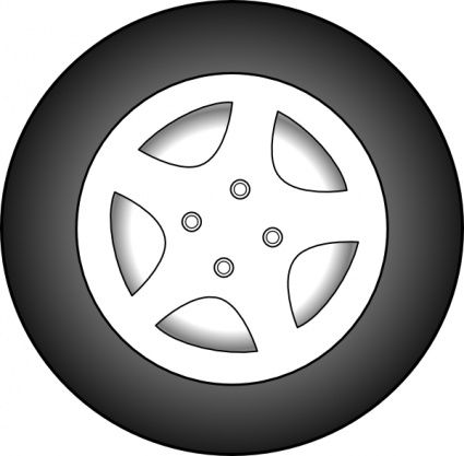 425x417 Download Free Tractor Tire Tread Vectors
