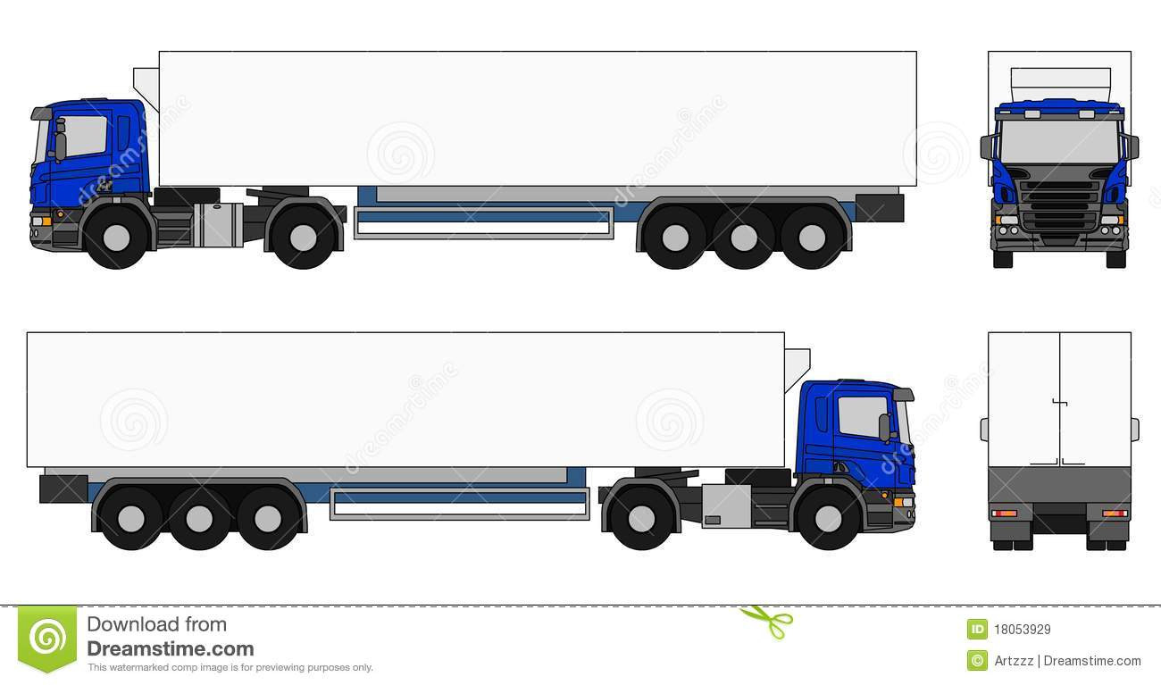 1300x767 Semi Truck Side View Clipart Amp Semi Truck Side View Clip Art