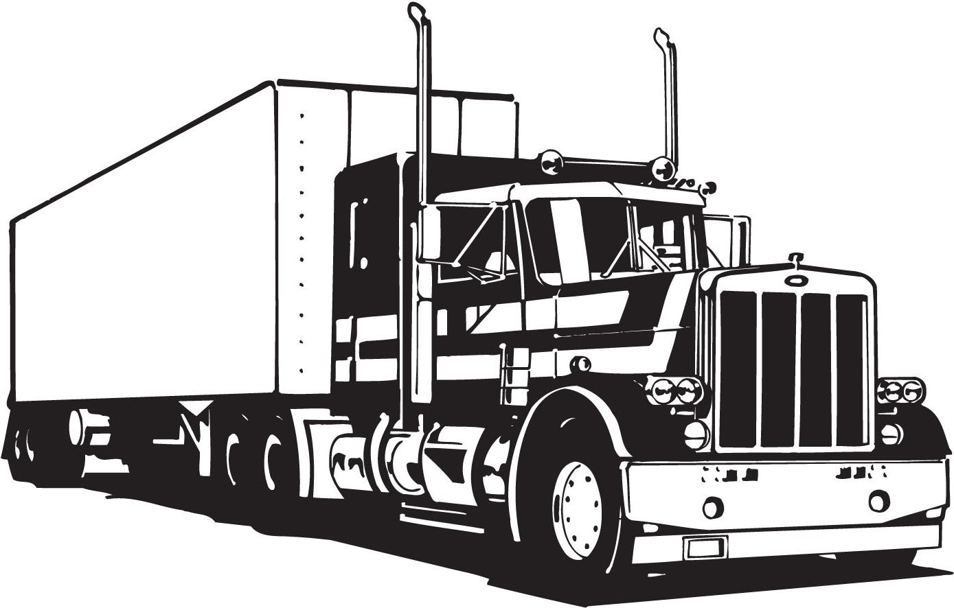 1389x886 Top Tractor Trailer Clip Art Image Free Vector Art, Images