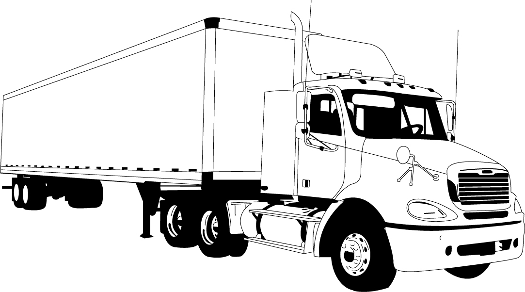 1083x602 Websites For Art Galleries, Tractor Trailer Vector Art Free