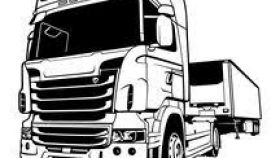 280x158 Clipart Tractor Trailer Truck All About Clipart