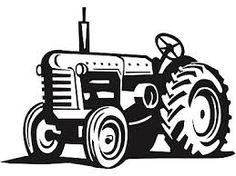 Tractor Vector Art