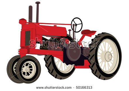 450x319 Antique Tractors Clipart