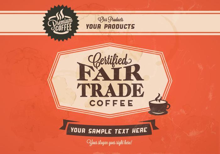 700x490 Fair Trade Coffee Classic Vector