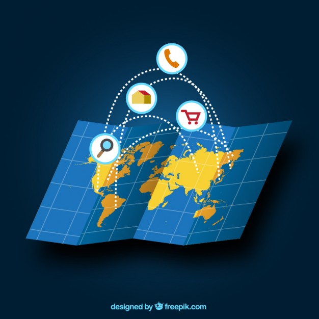 626x626 Global Trade Vector Free Download