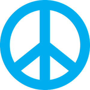 300x300 Peace Sign Vector