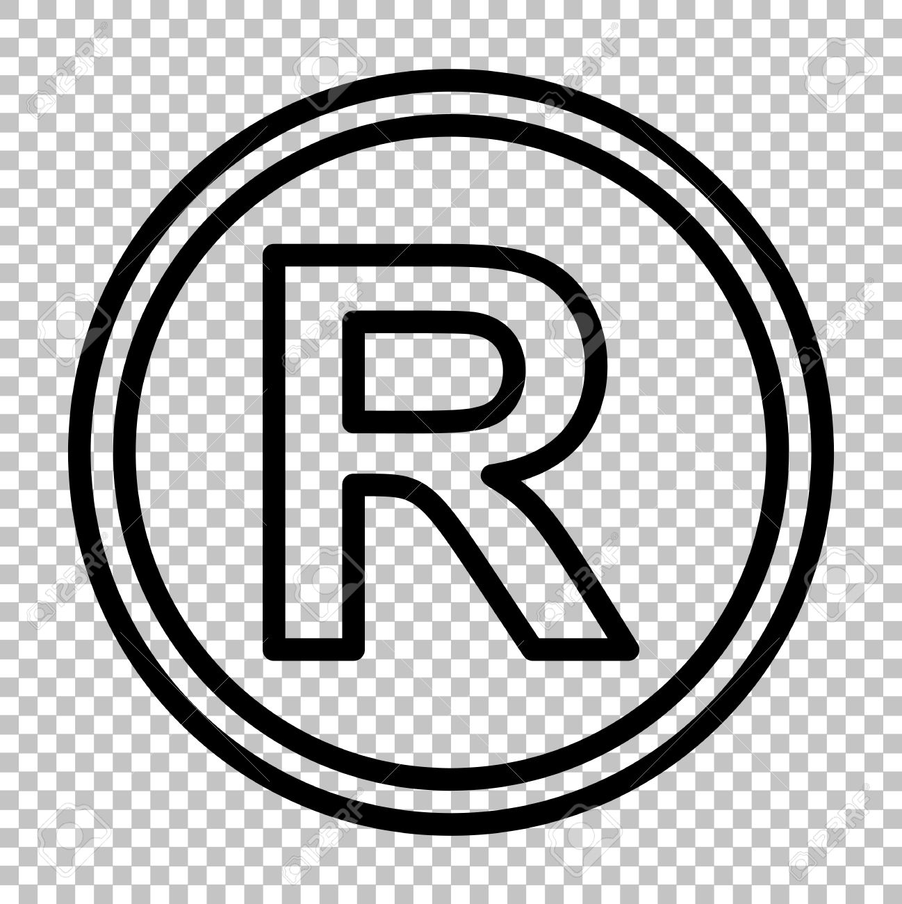 1298x1300 Registered Trademark Vector Desktop Backgrounds