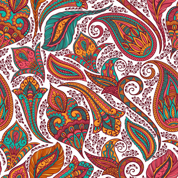 368x368 Indian Paisley Pattern Free Vector Download (19,533 Free Vector