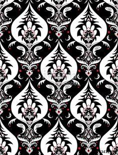 236x310 Seamless Traditional Indian Pattern Paisleys