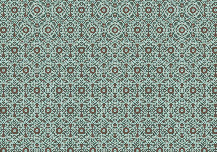 700x490 Floral Indian Pattern