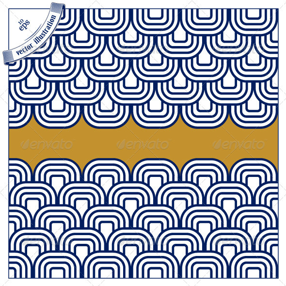 590x590 Japanese Wave Pattern By Pixelin Studio Graphicriver