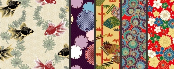Traditional Japanese Patterns Vector at GetDrawings com