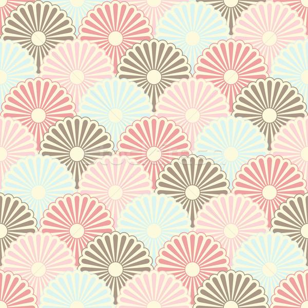 600x600 Seamless Japanese Vintage Pattern Vector Illustration Snezana