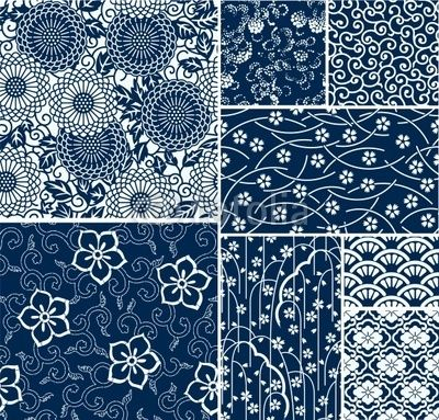 400x383 Japanese Traditional Pattern