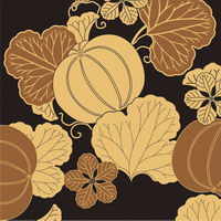 200x200 Fruits And Traditional Japanese Pattern Vector Material